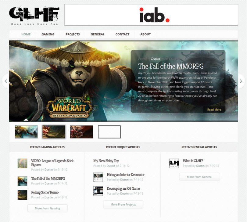 GoodLuckHaveFun.net Screenshot