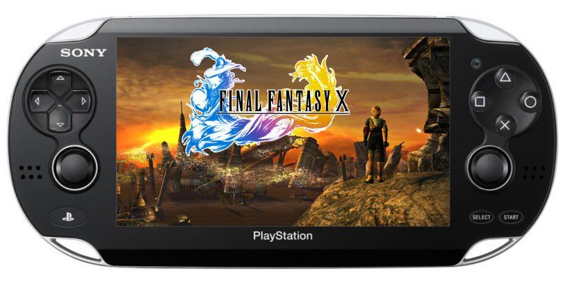 PS Vita Final Fantasy X FFX HD PS Vita