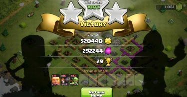 Clash of Clans Victory