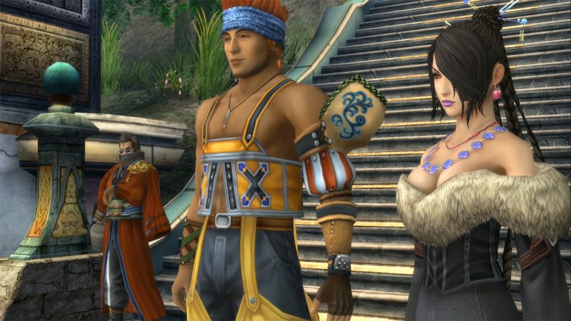 Final Fantasy FFX X-2 HD Remaster Auron Wakka Lulu