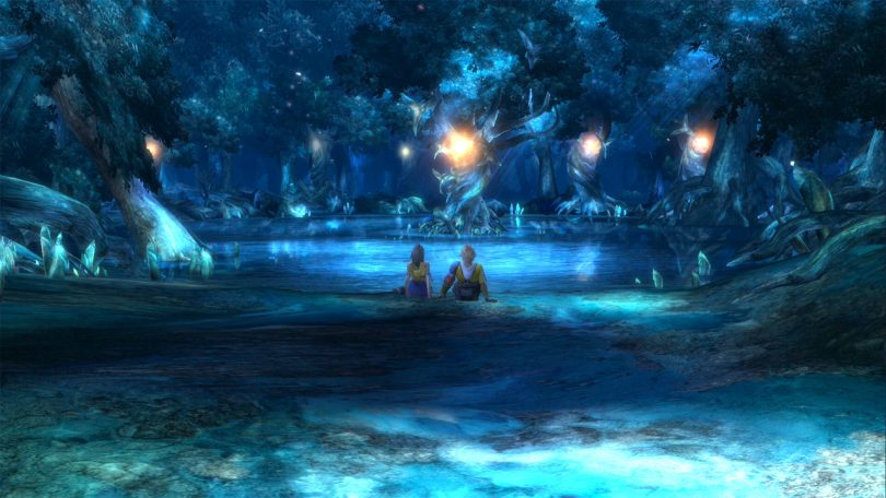Final Fantasy FFX X-2 HD Remaster Tidus and Yuna