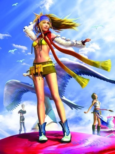 Final Fantasy X-2 FFX-2 HD Remaster Rikku Wallpaper