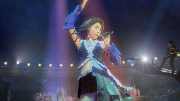Final Fantasy X-2 FFX-2 HD Remaster Yuna CG