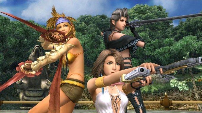 Final Fantasy X-2 FFX-2 HD Remaster Yuna Rikku Payne