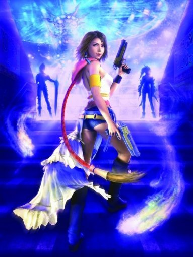 Final Fantasy X-2 FFX-2 HD Remaster Yuna Wallpaper