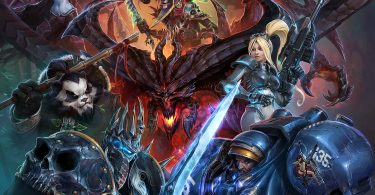 BlizzCon 2013 Heroes of the Storm Poster