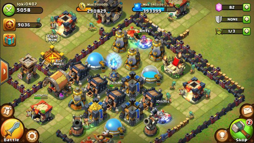 Castle Clash Defense