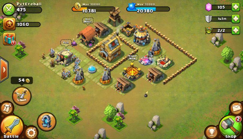 Castle Clash Defense Screenshot