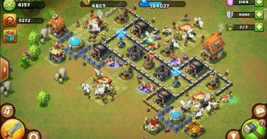Castle Clash Early Defense