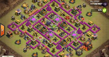 Clash of Clans - Clan Wars Base