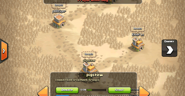 Clash of Clans - Clan Wars Map