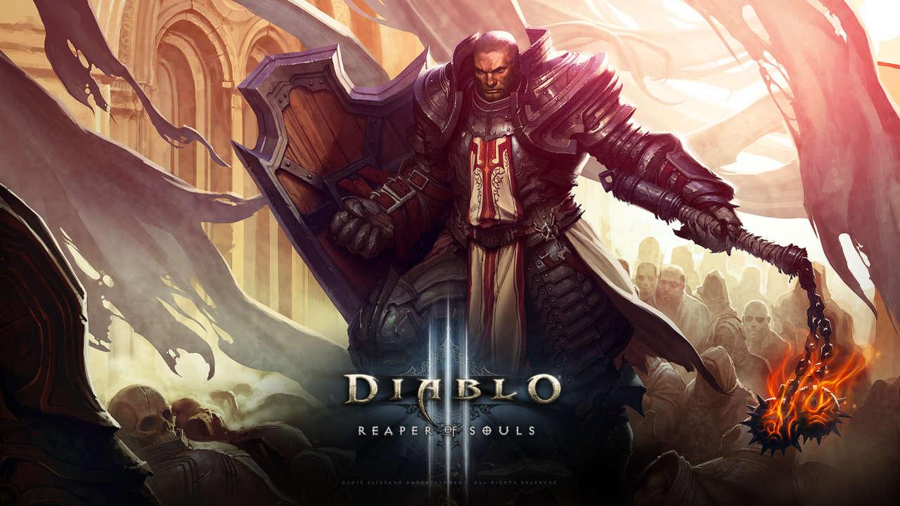 Diablo III: Reaper of Souls Crusader Wallpaper
