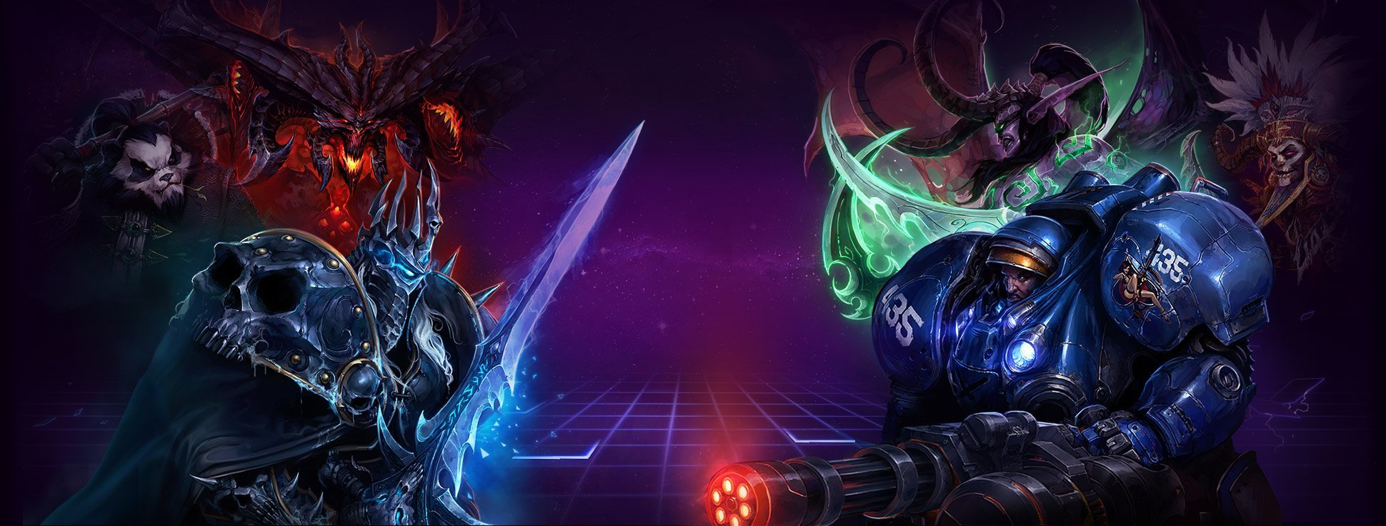 Heroes of the Storm Wide