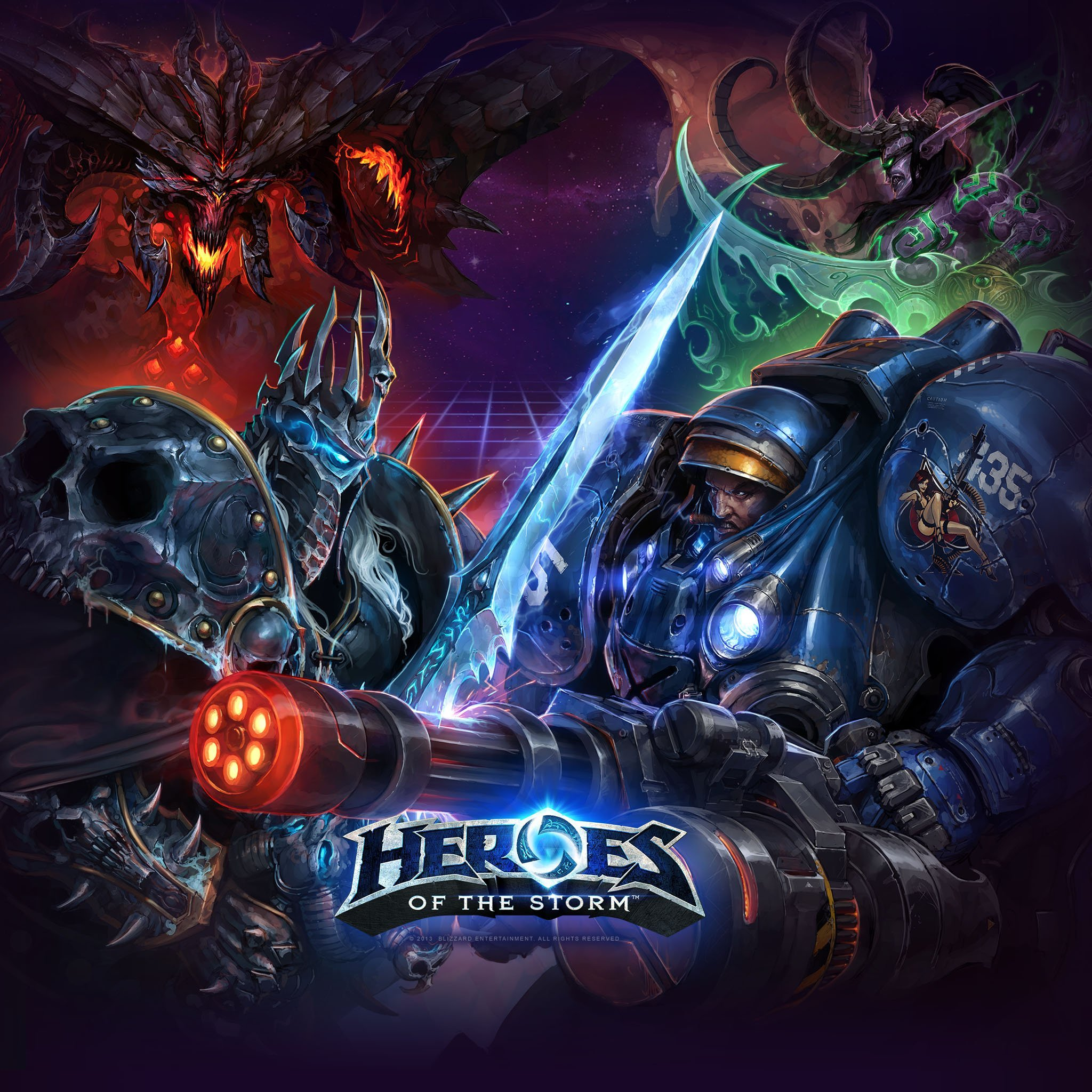 Heroes of the Storm Art