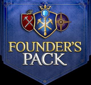 EverQuest Next Landmark Founder's Pack Flag Logo