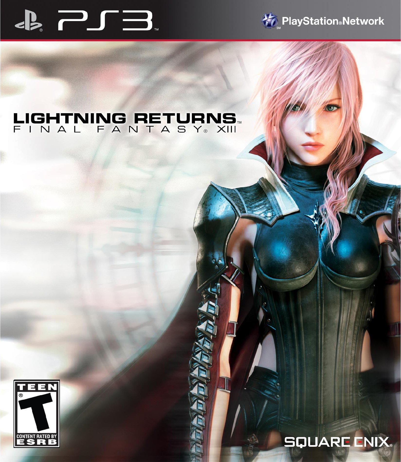 Lightning Returns: Final Fantasy XIII PS3 Box Art