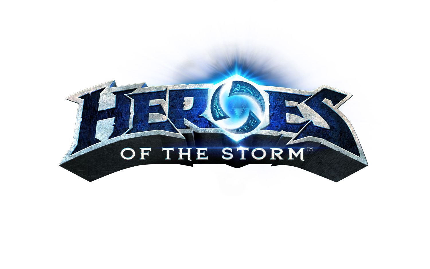 Logo Heroes of the Storm White