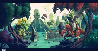 Tiny Realms - Tegu of Kul'Tar