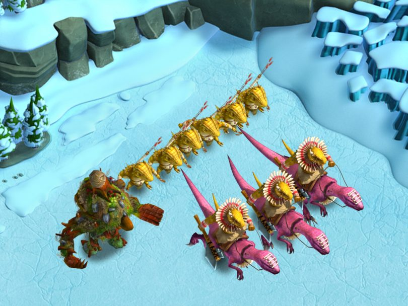 Tiny Realms - Tegu Warband