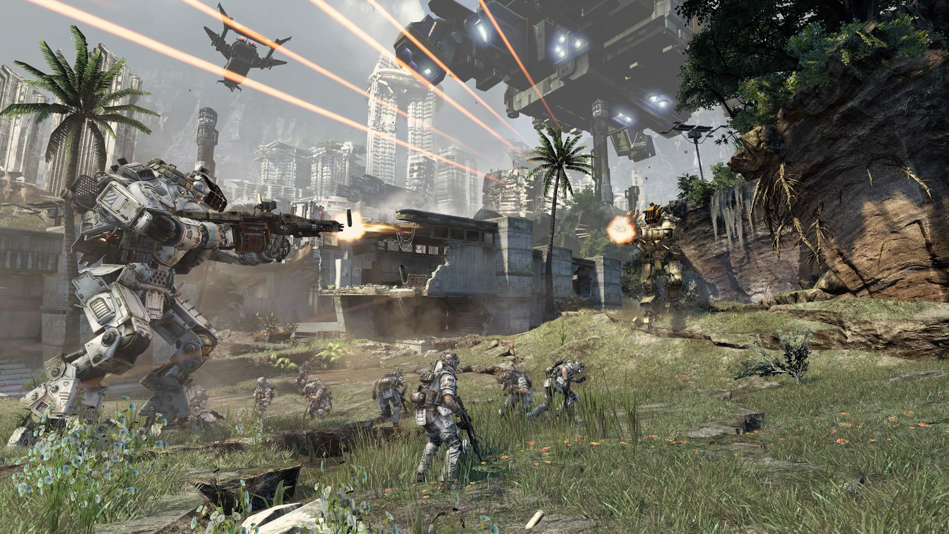 Titanfall Gameplay Footage Screenshot