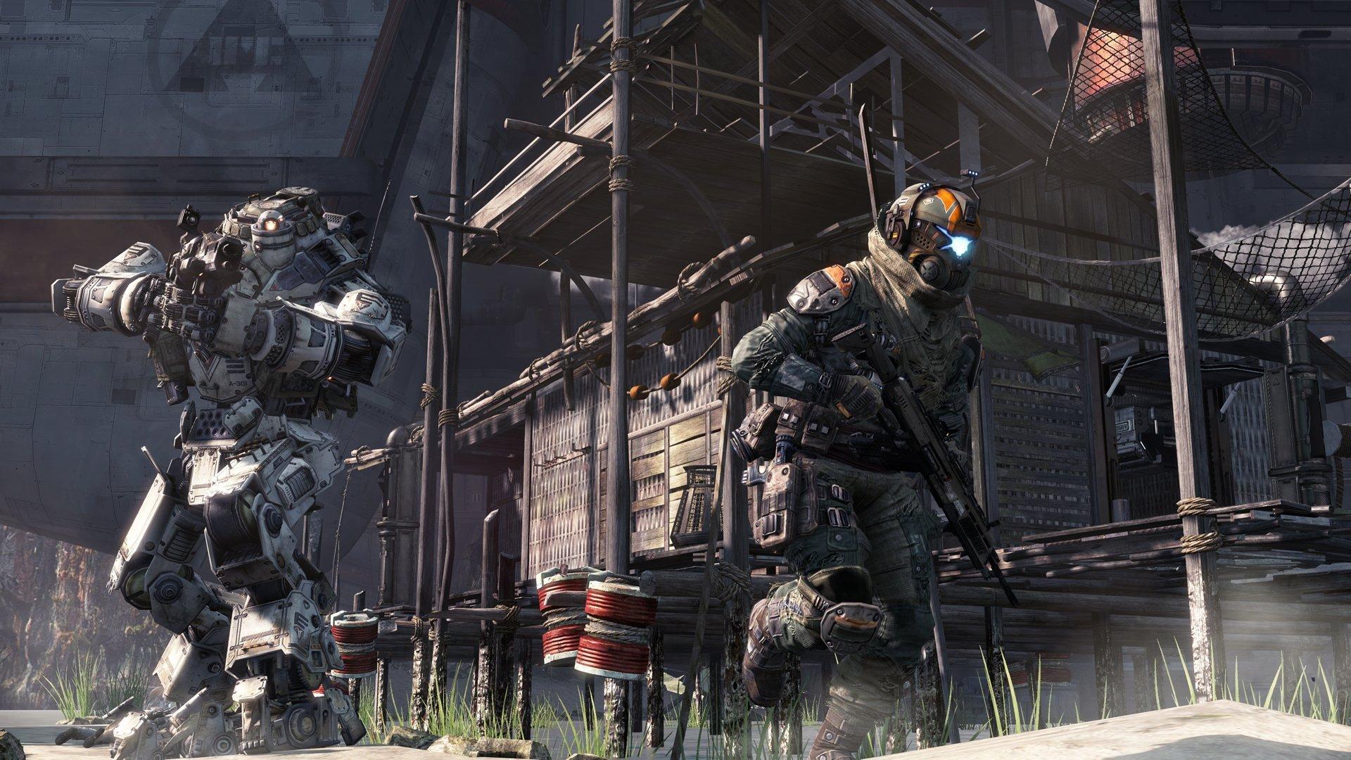 Titanfall Screenshot Titan Pilot