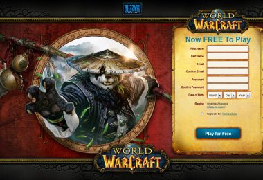 World of WarCraft Free to Play