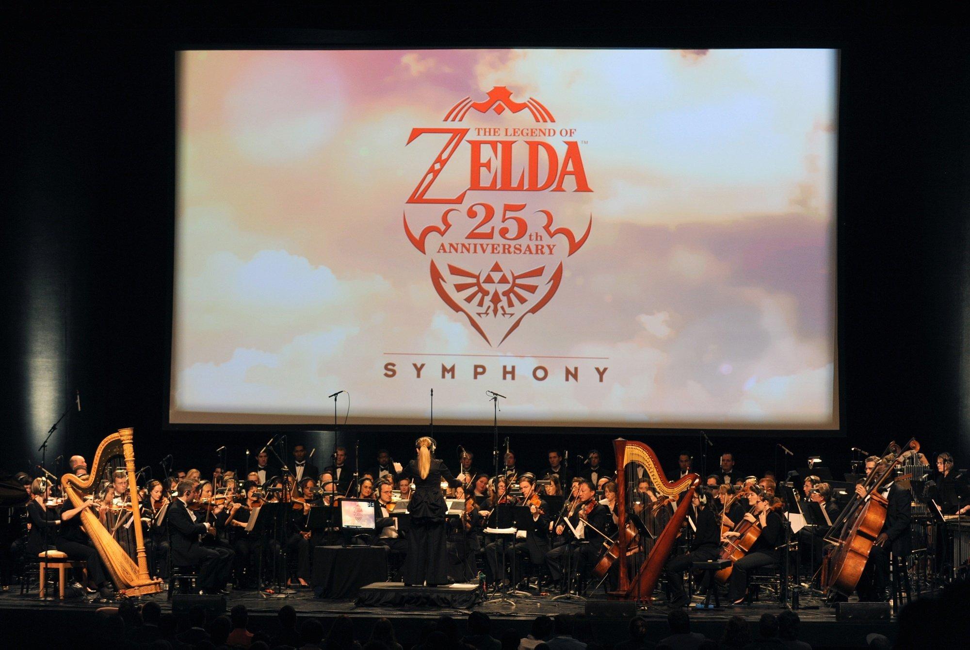 Nintendo Legend of Zelda 25th Anniversary Symphony